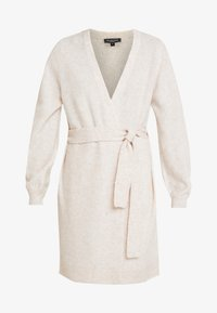 Selected Femme - SLFANNA X-MAS CARDIGAN - Vest - sandshell - 5