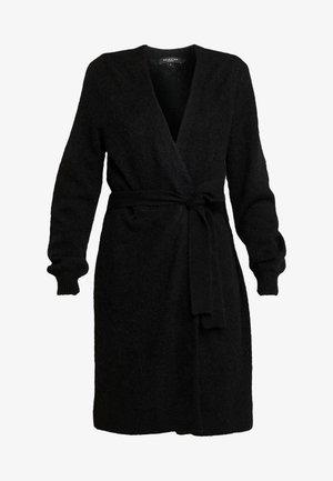 SLFANNA X-MAS CARDIGAN - Vest - black