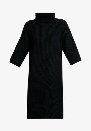 SLFCAROLINE 3/4 LONG ROLLNECK - Pullover - black