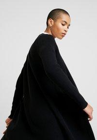 Selected Femme - SLFTILDE CARDIGAN - Kardigan - black - 4