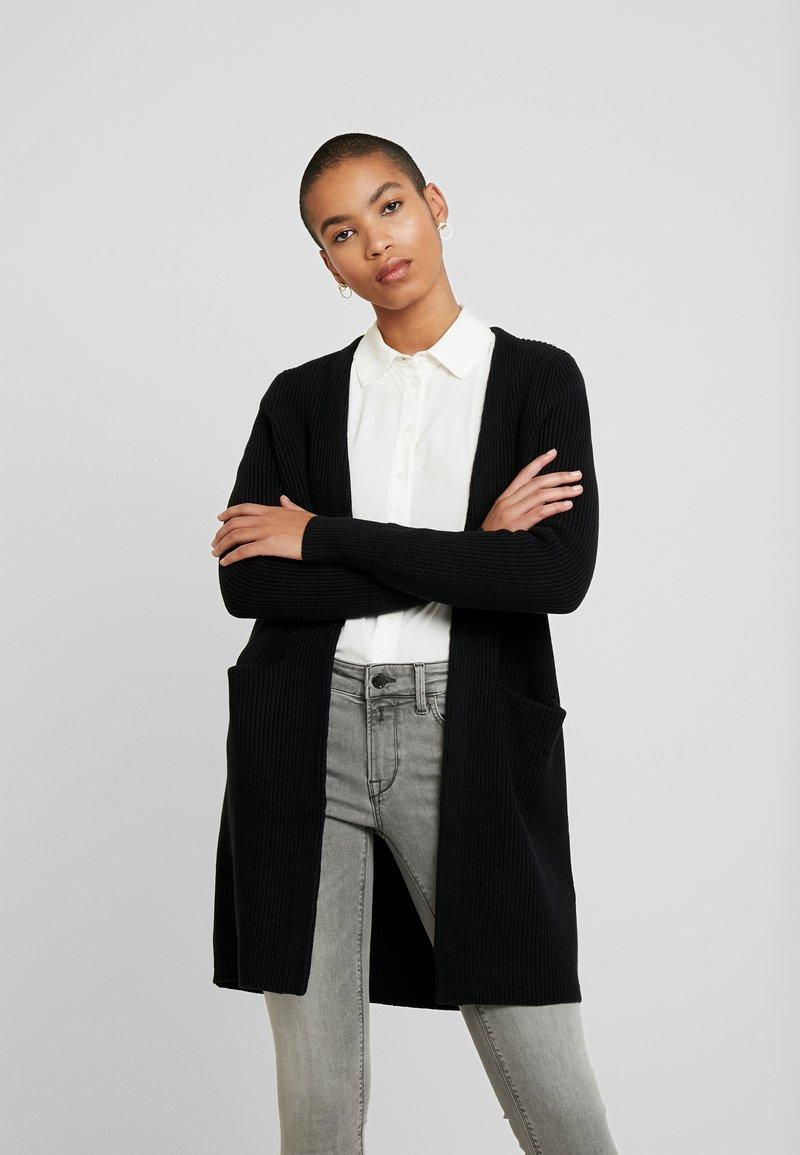 Selected Femme - SLFTILDE CARDIGAN - Kardigan - black