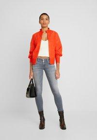 Selected Femme - SLFINGA FRILL CARDIGAN - Kardigan - orange - 1