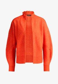 Selected Femme - SLFINGA FRILL CARDIGAN - Kardigan - orange - 4