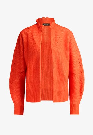 SLFINGA FRILL CARDIGAN - Cardigan - orange