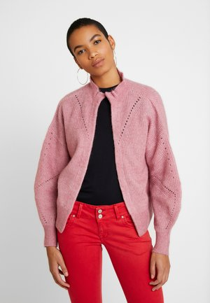 SLFINGA FRILL CARDIGAN - Cardigan - heather rose