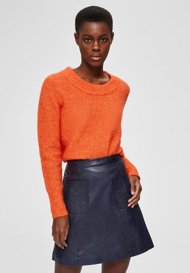 SLFSIF O-NECK - Jersey de punto - orange