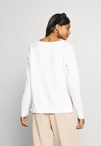 Selected Femme - SLFALBI  - Sweter - snow white - 2