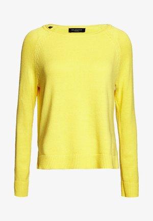 SLFALBI  - Sweter - empire yellow