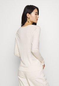 Selected Femme - SLFTOWER  - Jumper - snow white - 2