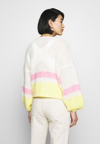 Selected Femme - SLFMELLOW  - Cardigan - empire yellow - 2
