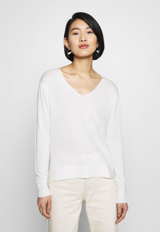 SLFLINEL  - Jersey de punto - snow white