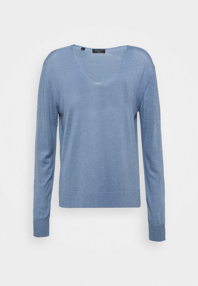 SLFLINEL  - Jersey de punto - country blue