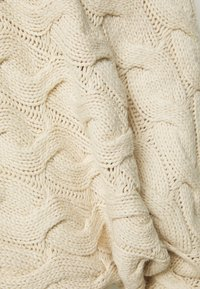 Selected Femme - SLFCARMA CABLE BOATNECK - Maglione - sandshell - 2
