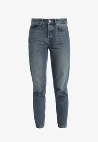 Selected Femme - SLFFRIDA MOM MID - Džíny Relaxed Fit - medium blue denim - 5