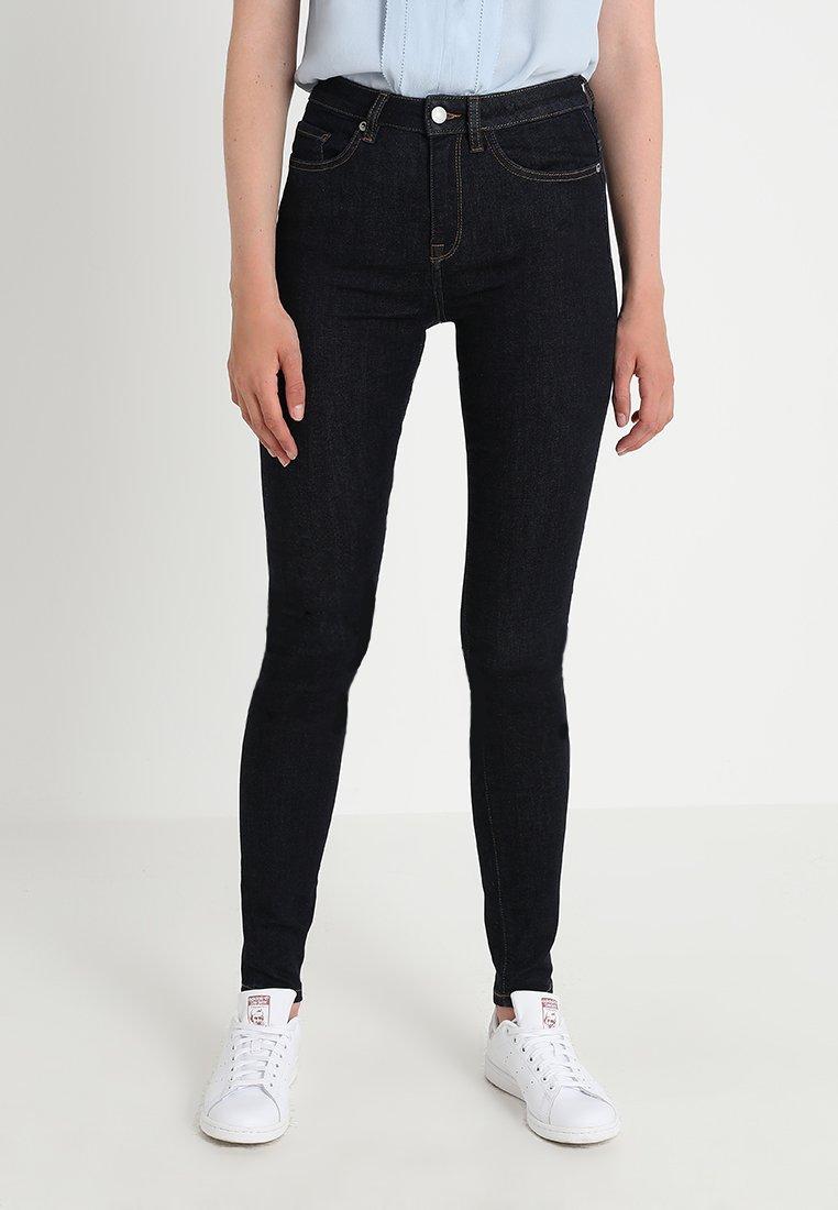 Selected Femme - SLFMAGGIE SKINNY  - Jeans Skinny Fit - dark blue denim