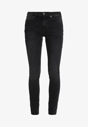 SLFIDA WASH - Skinny džíny - black denim