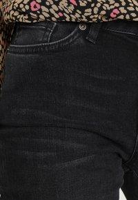 Selected Femme - SLFIDA WASH - Skinny džíny - black denim - 3