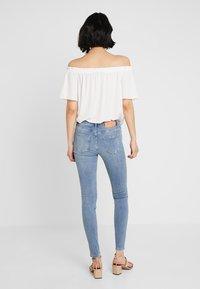 Selected Femme - SLFIDA CASTY - Skinny džíny - light blue - 2