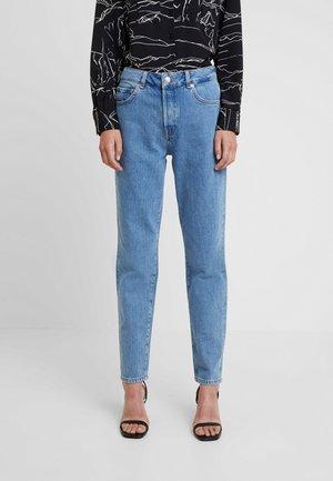SLFLOU DAWN - Slim fit jeans - dark blue denim