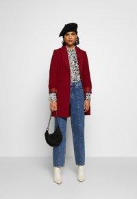 Selected Femme - SLFKATE AIM - Jeans straight leg - medium blue denim - 1
