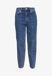 Selected Femme - SLFKATE AIM - Jeans straight leg - medium blue denim - 3