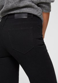 Selected Femme Petite - Široké džíny - black denim - 3