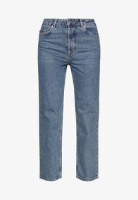Selected Femme - SLFKATE RAIL - Straight leg jeans - medium blue denim - 4