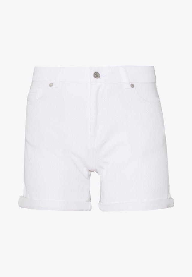 SLFSILLA  - Jeansshorts - white denim