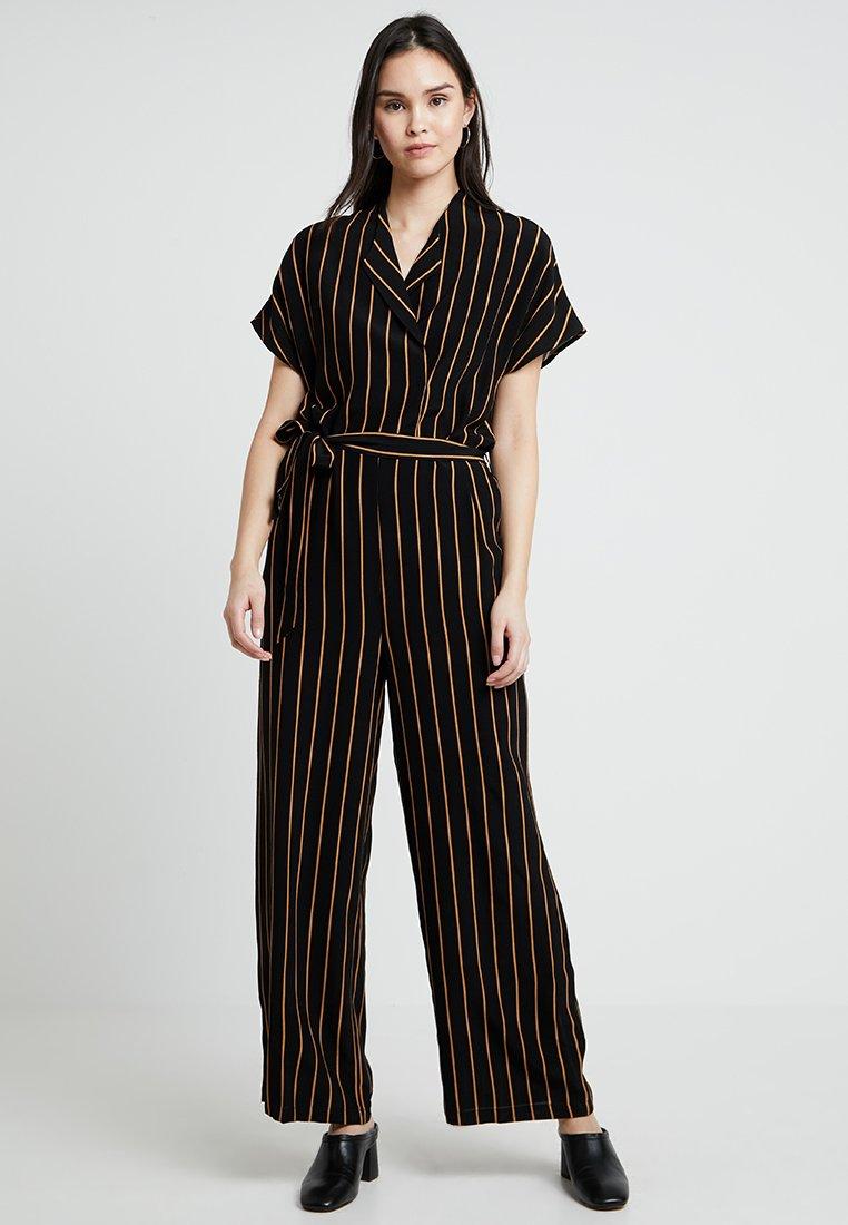 Selected Femme - SLFALESSA - Jumpsuit - black/doe