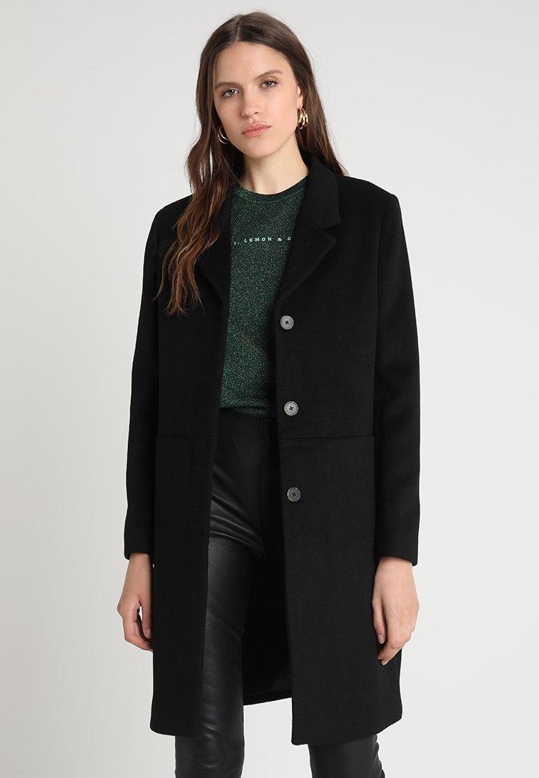 Selected Femme - SLFBOA  - Zimní kabát - black