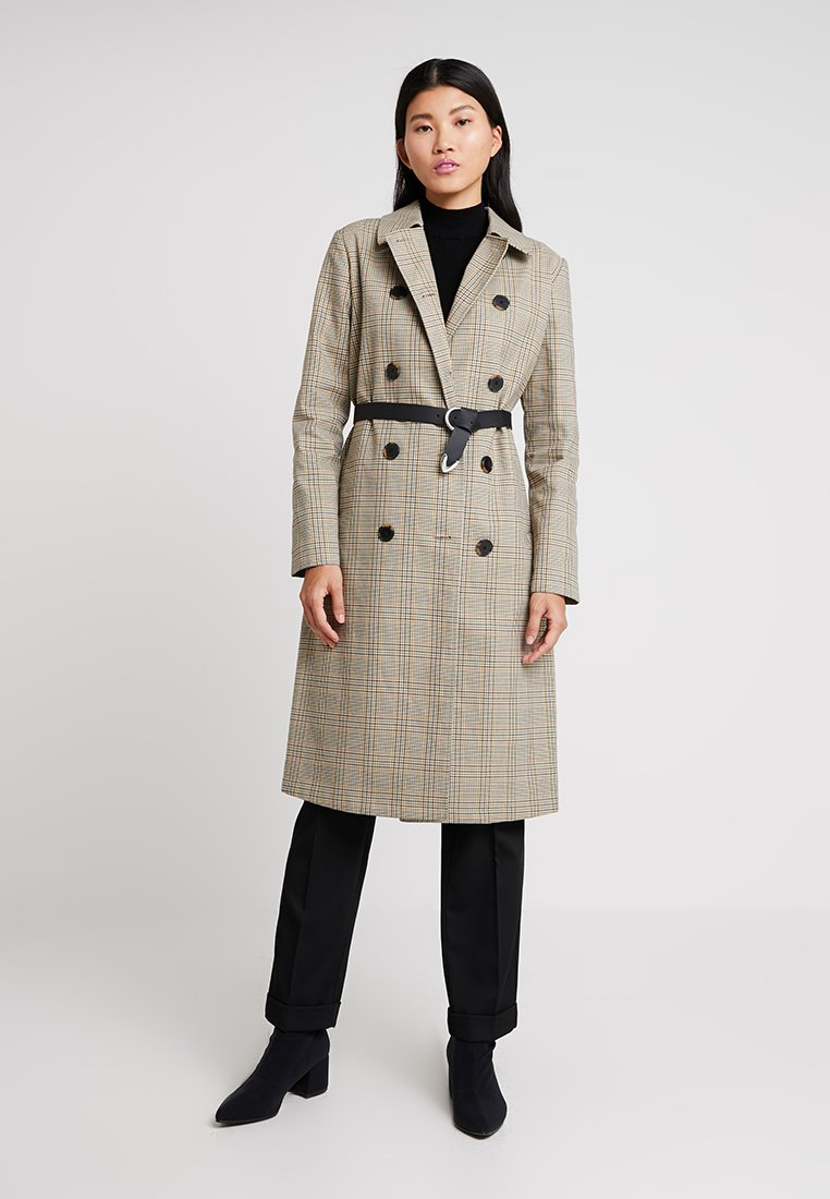 Selected Femme - SLFLYDIA COAT - Frakker / klassisk frakker - birch/brown