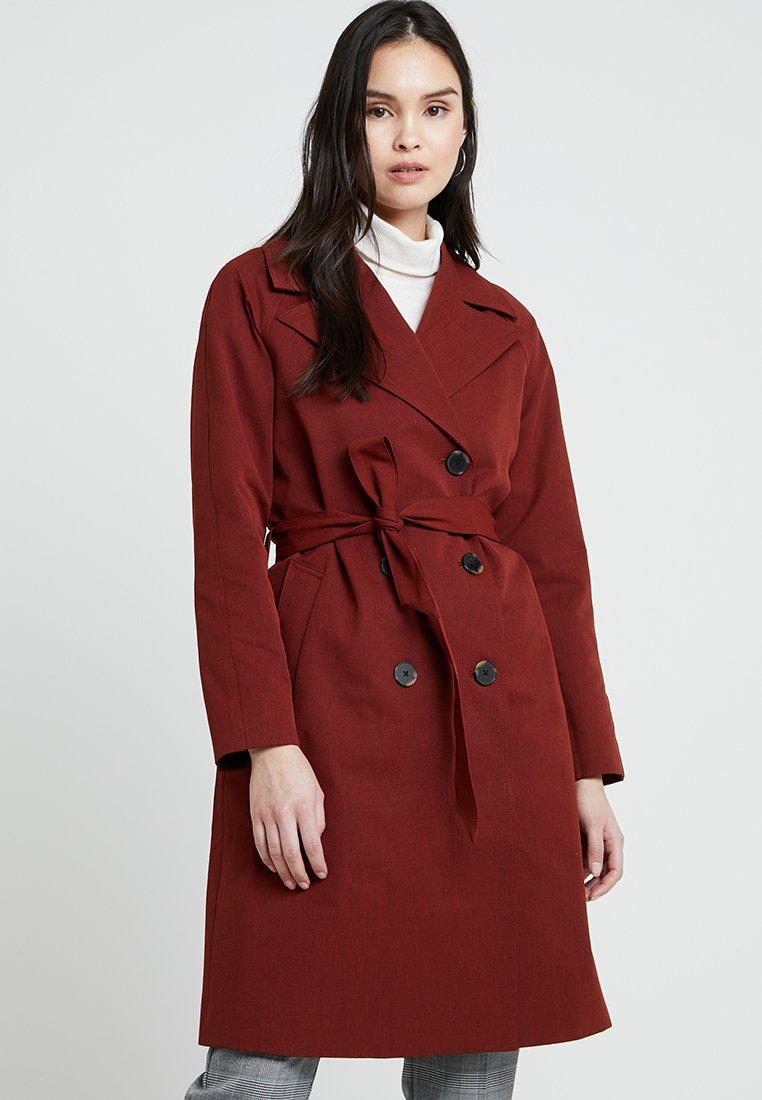 Selected Femme - SLFANKA - Trenchcoat - fired brick