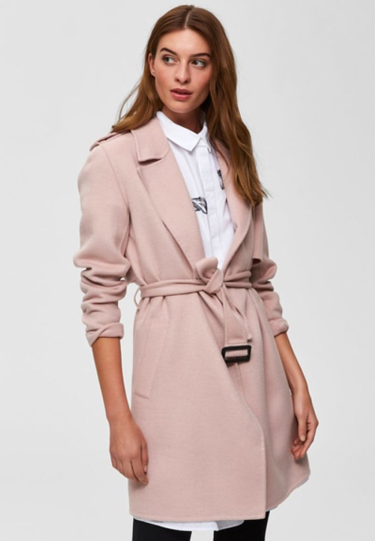 Selected Femme - Classic coat - rose