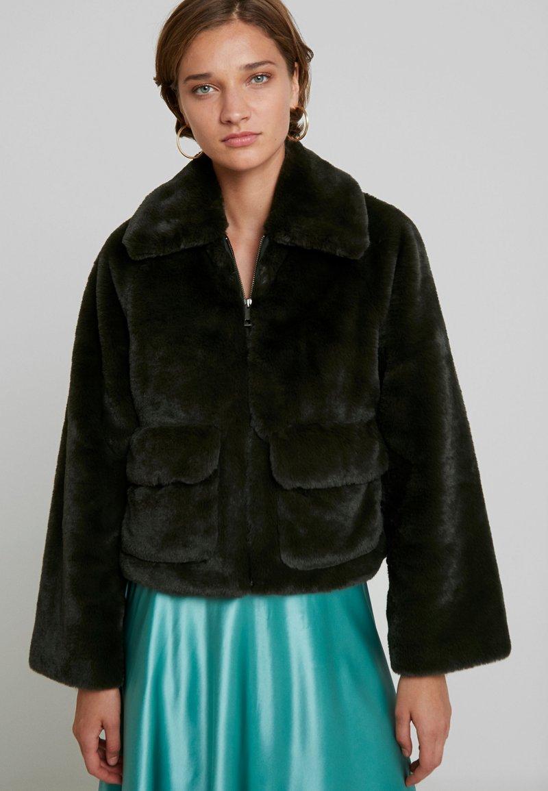 Selected Femme - SLFTRINA FAUX JACKET - Winter jacket - rosin