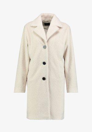 SLFNANNA TEDDY COAT - Płaszcz zimowy - sandshell