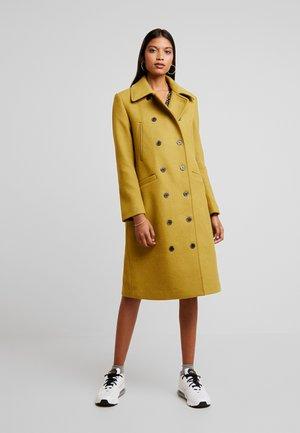 SLFWINNIE COAT - Manteau classique - ecru/olive