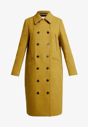 SLFWINNIE COAT - Zimní kabát - ecru/olive