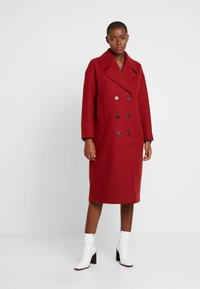 Selected Femme - SLFJEANNE - Classic coat - chili oil - 0