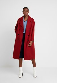 Selected Femme - SLFJEANNE - Classic coat - chili oil - 1