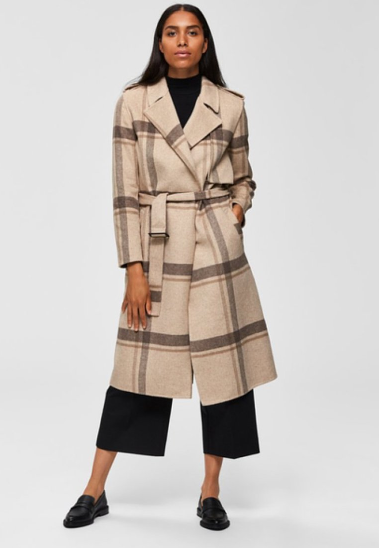 Selected Femme - Trench - camel