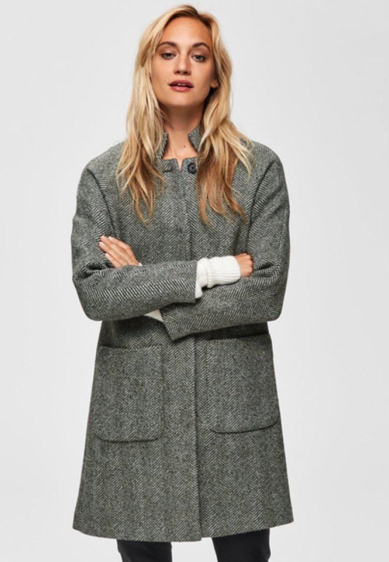 Selected Femme - Classic coat - olive