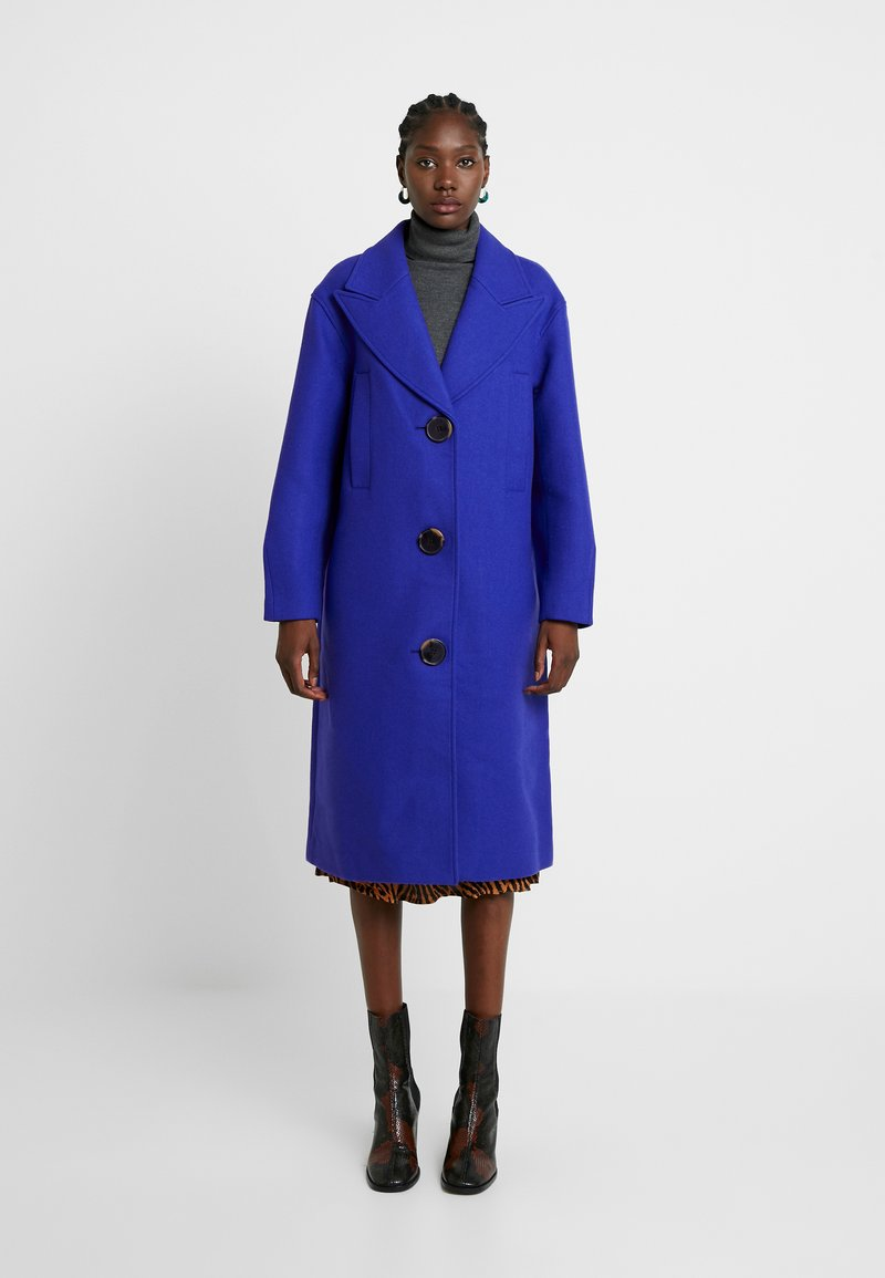 Selected Femme - SLFODA COAT - Classic coat - clematis blue