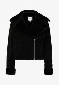 Selected Femme - Leather jacket - black - 5