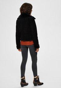 Selected Femme - Leather jacket - black - 2