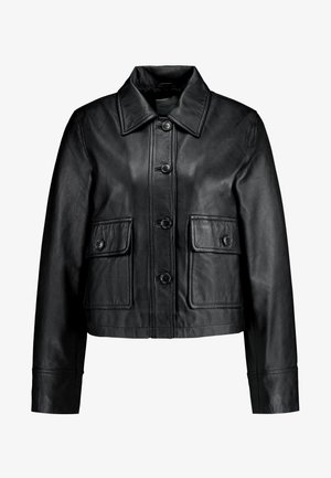 SLFKATE - Chaqueta de cuero - black
