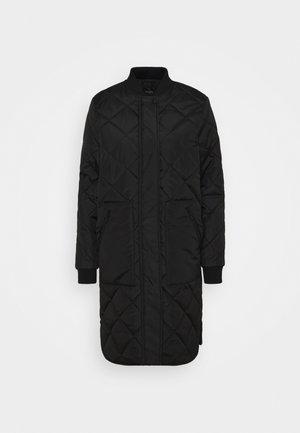SLFNATALIA QUILTED COAT - Light jacket - black