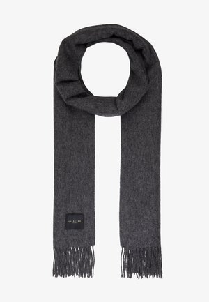 Scarf - medium grey melange