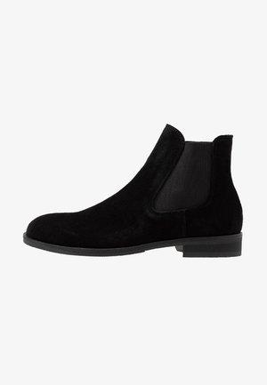 SLHLOUIS CHELSEA BOOT - Støvletter - black