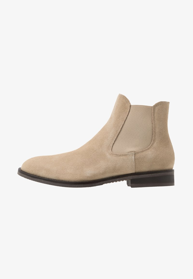 Selected Homme - SLHLOUIS CHELSEA BOOT - Classic ankle boots - crockery