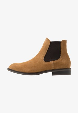 SLHLOUIS CHELSEA BOOT - Classic ankle boots - sand
